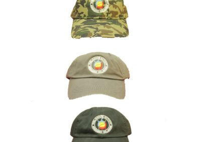 Embroidered DN Hats (Camo, Tan, Black)