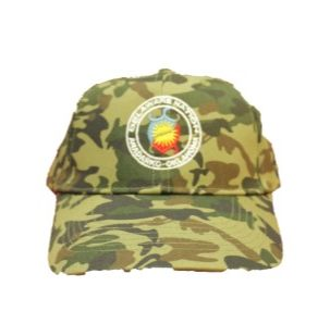 Embroidered DN Camo Hat