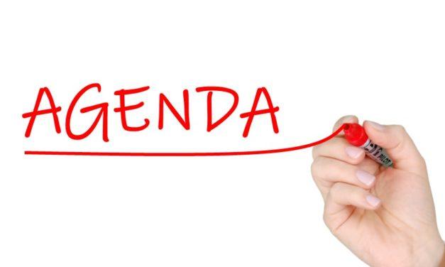 Constitution Committee Meeting Agenda