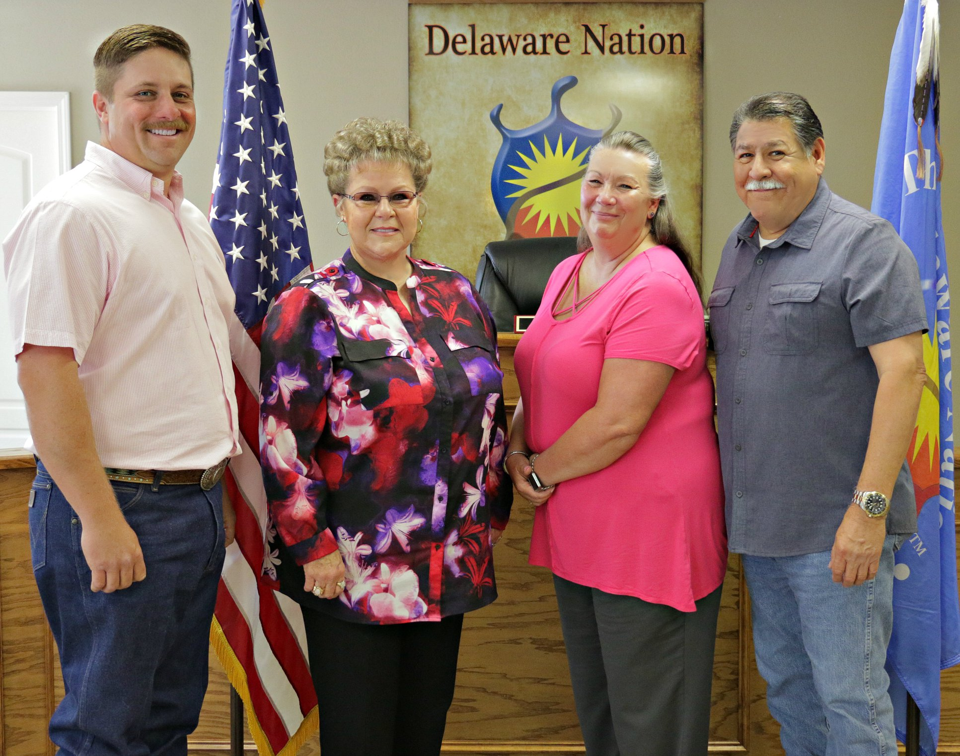 Delaware Nation Swearing In Ceremony