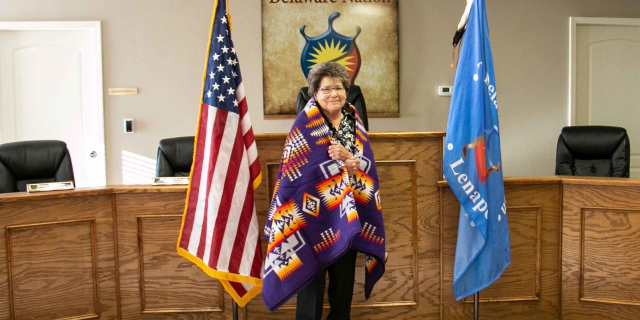 Delaware Nation Welcomes New Treasurer During Swearing-In Ceremony