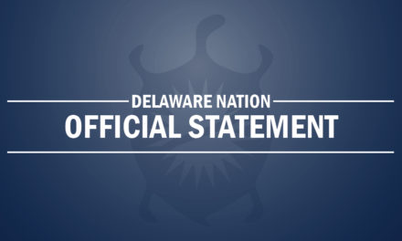 Delaware Nation Joins Lawsuit Protecting Our Sovereignty, Protecting Our Citizens And Protecting Our Employees