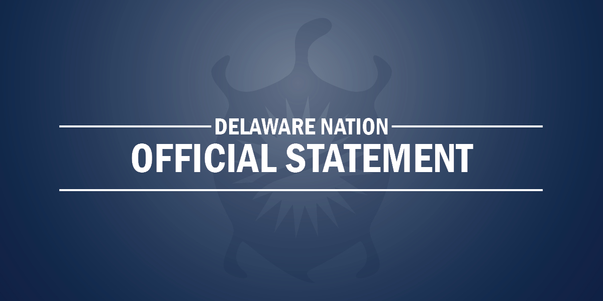 Statement In Regards Of Tribal Security Officer Allegations
