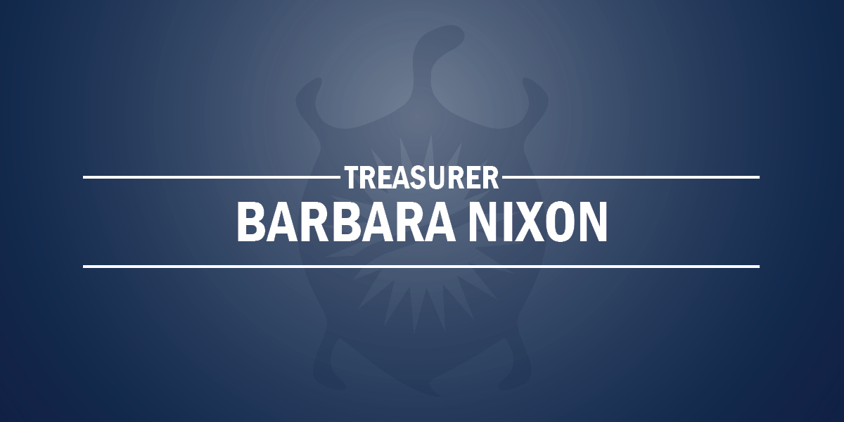 Barbara Nixon Newly Elected Treasurer on October 5, 2019