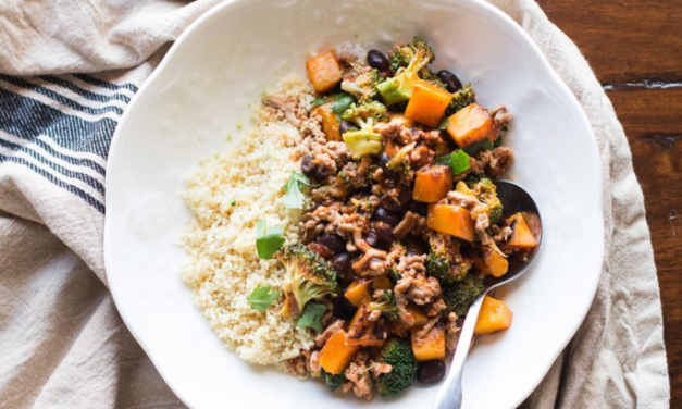 Healthy Weight Week: Ground Turkey Enchilada Stir-Fry With Couscous