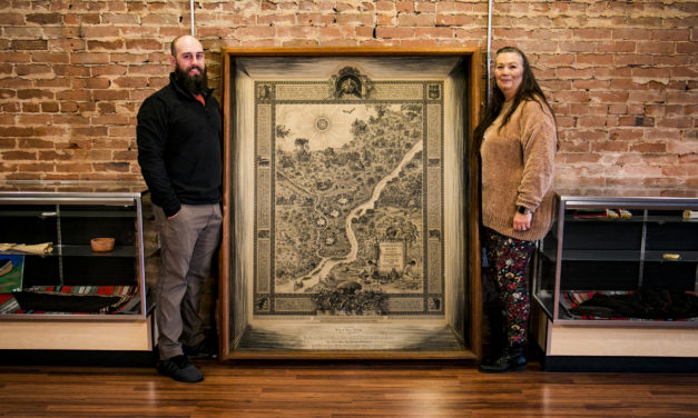 Delaware Nation Obtains Historical Map