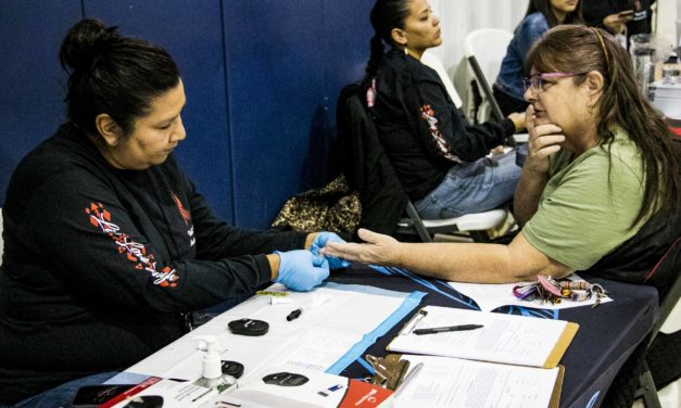 Tribal Affiliated Health Programs Brought Good Health And Lifestyle Tips At Heart Health Fair