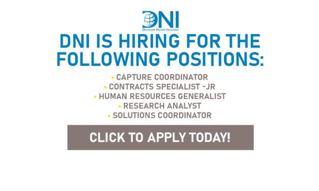 Delaware Nation Industries (DNI) Is Seeking Applicants