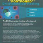 DNI Stakeholder Meeting is Postponed
