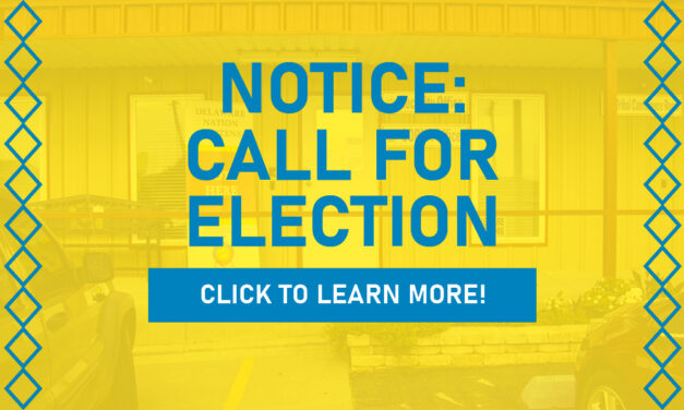 NOTICE: Call For Election June 19th, 2021