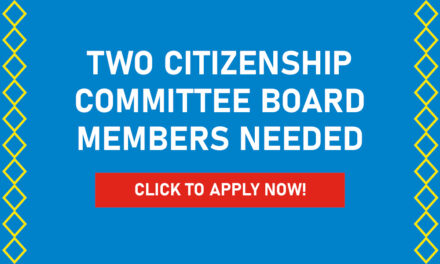 Two Citizenship Committee Board Members Needed
