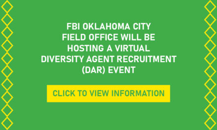 The FBI Oklahoma City Field Office Will Be Hosting A Virtual Diversity Agent Recruitment (DAR) Event