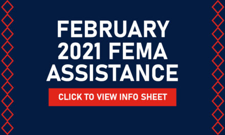 Winter Storm February 2021 FEMA Assistance Information