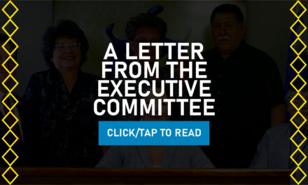 A Letter From The Executive Committee