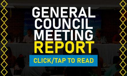 2021 General Council Meeting Report