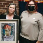Delaware Nation Receives Congressional Art Competition Winning Painting From Tribal Citizen