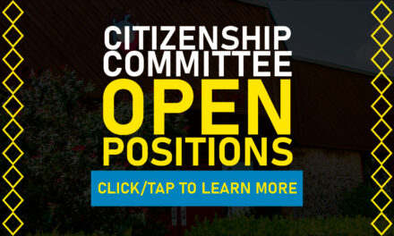 Three Open Citizenship Committee Positions Available
