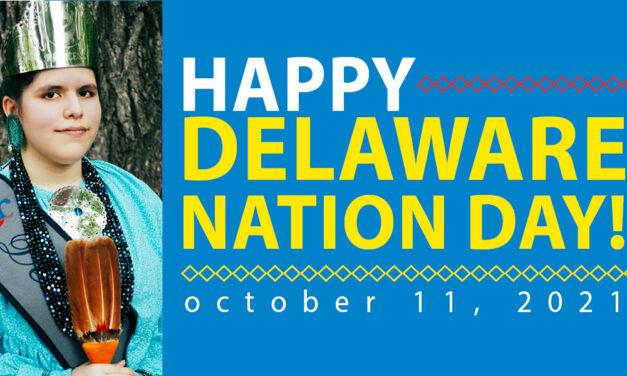 Happy Delaware Nation Day!
