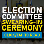 Election Committee Hosts Swearing-In Ceremony To Welcome Elected Tribal President, Treasurer & Committee Person No.1