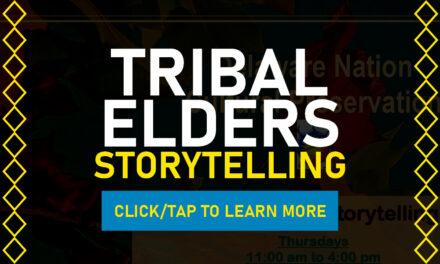 Delaware Nation Cultural Preservation Tribal Elders Storytelling Classes In October & November